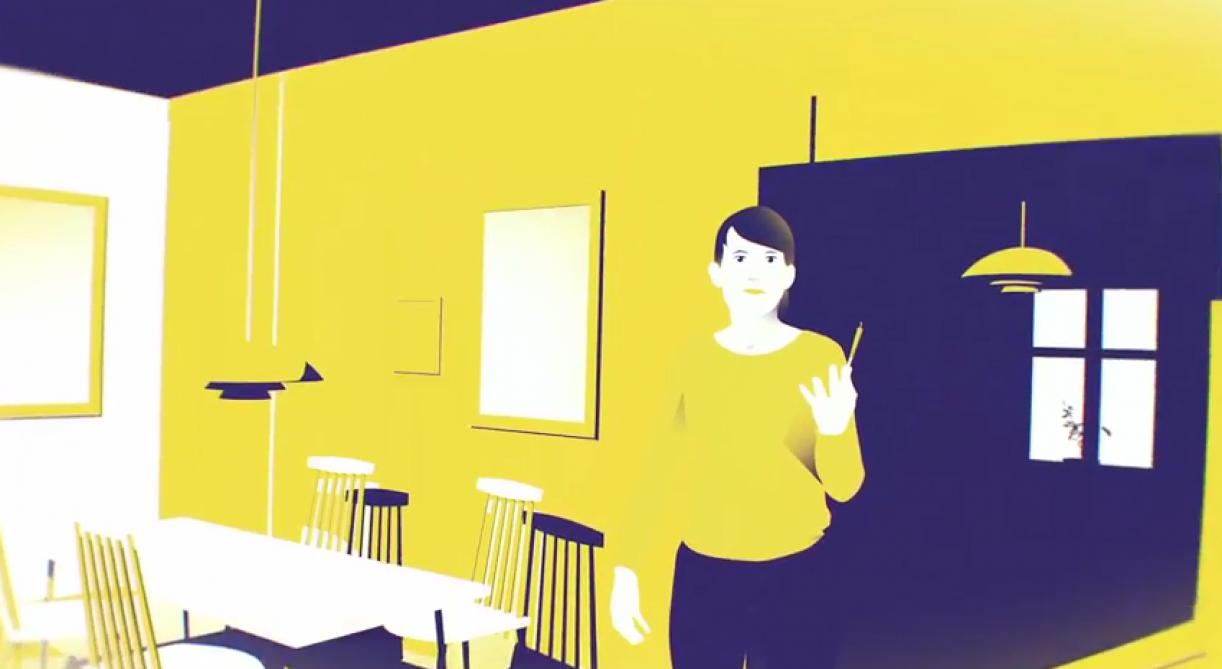 Film om tanker omkring nedtur, koncentration, tjald, hash, kærester